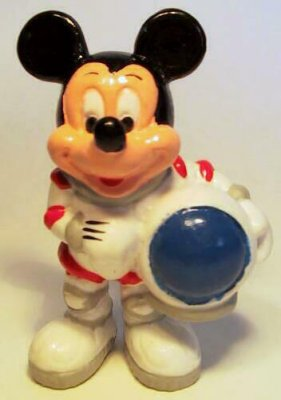 Astronaut Mickey Mouse PVC figure