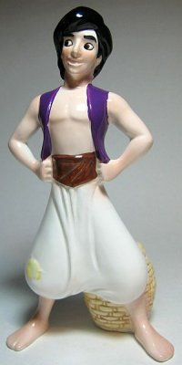 Aladdin ceramic figure