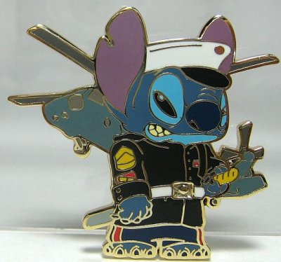 Stitch as a Marine in full dress uniform pin from our Pins ... | 400 x 374 jpeg 33kB