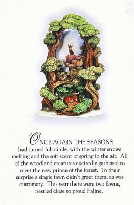 A Forest Renewed Story-time postcard