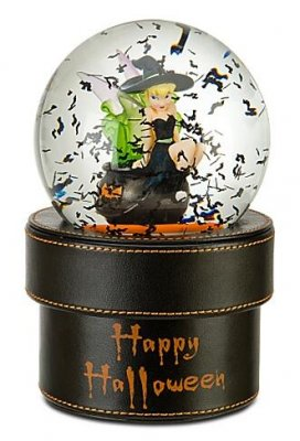 halloween tinker bell snowglobe gift box