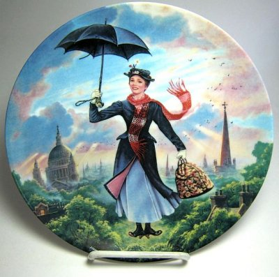 Mary Poppins decorative plate from our Other collection ...