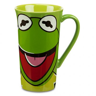 Kermit the frog Muppets coffee mug from our Mugs & Cups