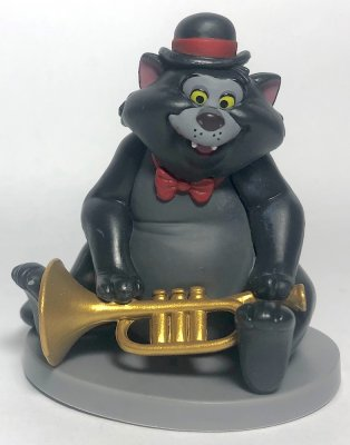Scat Cat PVC figurine, from Disney's 'The Aristocats'