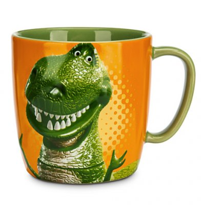 Toy Story Rex The Dinosaur Coffee Mug Little Arms Big