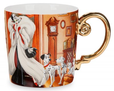 'You gotta dress for the part' - Cruella de Vil and Dalmatians coffee mug