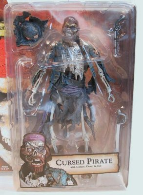 Cursed Pirate skeleton action figure from our Other ...