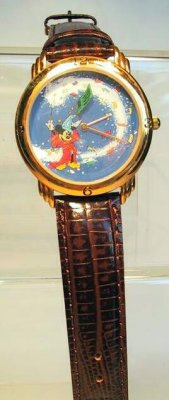 Mickey Mouse as the Sorcerer's Apprentice watch
