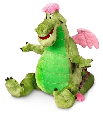 Elliott plush soft toy doll, from Disney's 'Pete's Dragon'