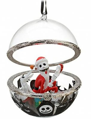 jack skellington and zero bauble ornament from our christmas collection disney collectibles and memorabilia fantasies come true - Jack Skeleton Christmas Decorations