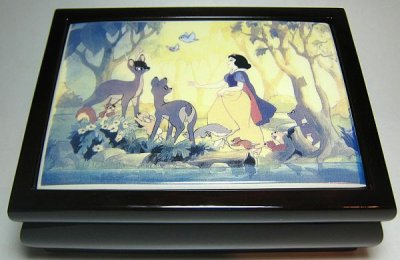 Snow White musical jewelry box 2008 from our Other collection