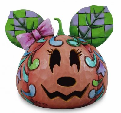 Happy Halloween\' - Minnie Mouse jack-o-lantern (Jim Shore) from our ...