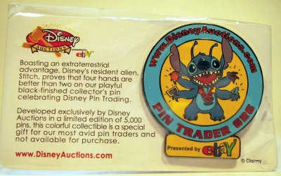 Stitch Ebay Disney Auction Pin From Our Pins Collection Disney Collectibles And Memorabilia Fantasies Come True
