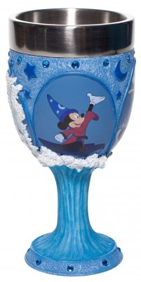 Mickey Mouse as Sorcerer's Apprentice in 'Fantasia' Chalice or Goblet (Disney Showcase Collection)