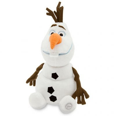 Sitting Olaf plush soft toy doll (13.5 inches) (from 'Frozen')