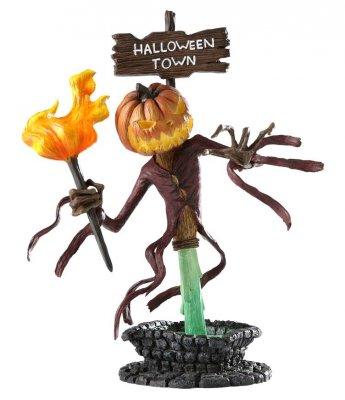 Jack Skellington As The Pumpkin King Grand Jester Bust