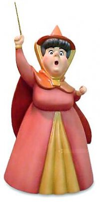 'A little bit of pink' - Flora Disney figurine (WDCC)