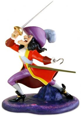 'I've got you this time!' - Captain Hook figurine (WDCC) (Damaged)