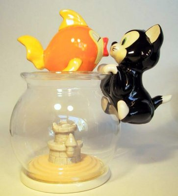 Cleo Amp Fishbowl And Figaro Salt Amp Pepper Shakers From Our