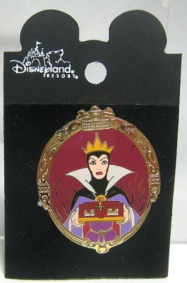 Evil Queen in Magic Mirror pin
