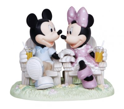 'Always Be By My Side' - Mickey and Minnie Mouse figurine