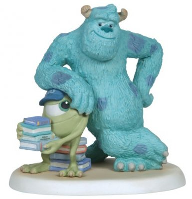 'Lean On Me' - Sulley and Mike Wazowski figurine