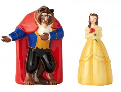 Belle and Beast set of salt and pepper shakers (from Disney's 'Beauty and the Beast')