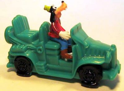 Goofy In Green Car Wind Up Fast Food Toy From Our Fast