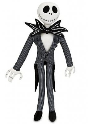 Jack Skellington large plush (21 inches)