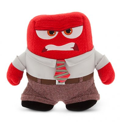 Anger plush soft toy doll