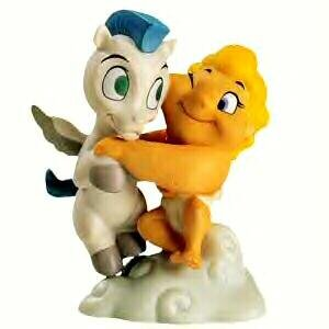 'A gift from the gods' - Hercules and Pegasus Disney ornament (WDCC)