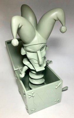 'Jealous Jack' - Jack-in-the-box figurine (maquette version) (WDCC)