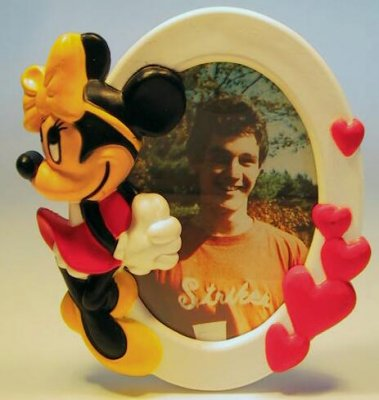 Minnie Mouse photo frame magnet