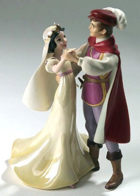 'A dance among the stars' - Snow White and Prince figurine (WDCC)