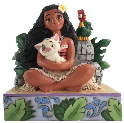 'Welcome to Motunui' - Moana figurine (Jim Shore Disney Traditions)