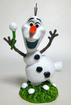Olaf The Snowman In Summer Figurine Department 56 From Our Other Collection Disney