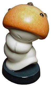 'Hop Low' - Hop Low small mushroom from Fantasia figurine (WDCC)