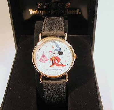 10th Anniversary Tokyo Disneyland Watch Small From Our Clocks And Watches Collection Disney
