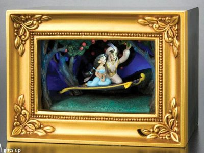 Magic Carpet Ride Aladdin Amp Jasmine Gallery Of Light Box