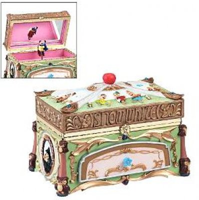 Snow White deluxe musical jewelry box from our Other collection