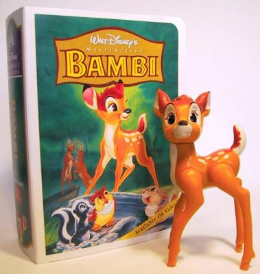 Bambi fast food toy (Masterpiece)
