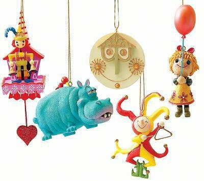 Vintage Disney Christmas Ornaments