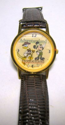Mickey Mouse & Donald Duck Adventureland / Friontierland watch