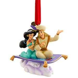 Aladdin Amp Jasmine Flying Carpet Ornament 2008 From Our