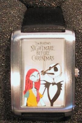 Jack Skellington and Sally wristwatch