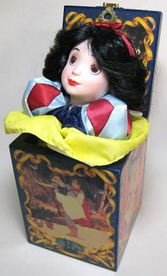 Snow White jack-in-the-box from our Other collection | Disney collectibles and memorabilia ...