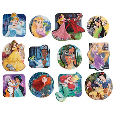 Set Of 12 Disney Princess 3d Stickers From Our Other