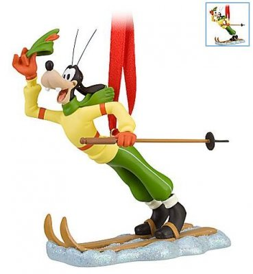 Goofy skiing ornament (2010) from our Christmas collection ...