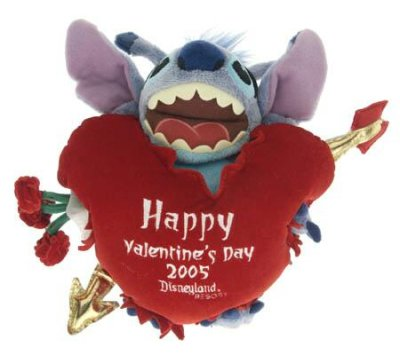 stitch happy valentine's day 2005 plush doll / soft toy from our, Ideas