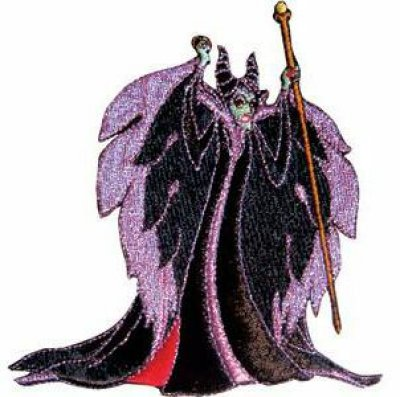 Maleficent standing patch